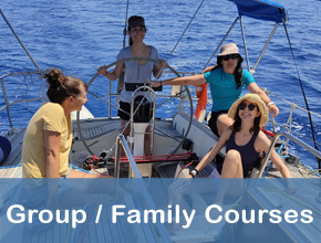 Sardinia sailing courses for group